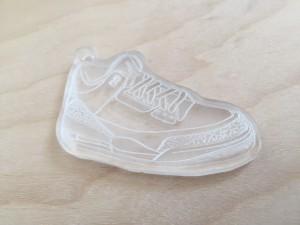 Acrylic Sneaker Keychain