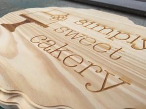 Custom Company Wood Sign