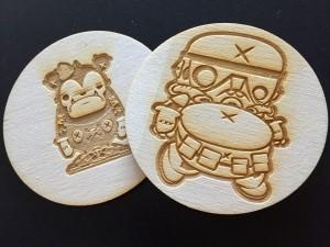 Custom Artist Coaster