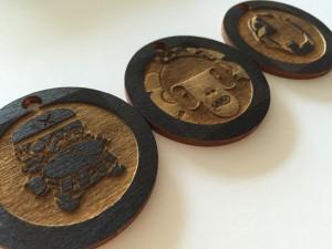 Custom Artist Keychains