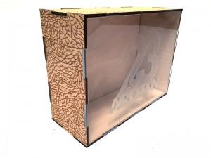Custom Wood Sneaker Box